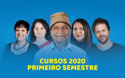 Agenda 2020 – Cursos do primeiro semestre